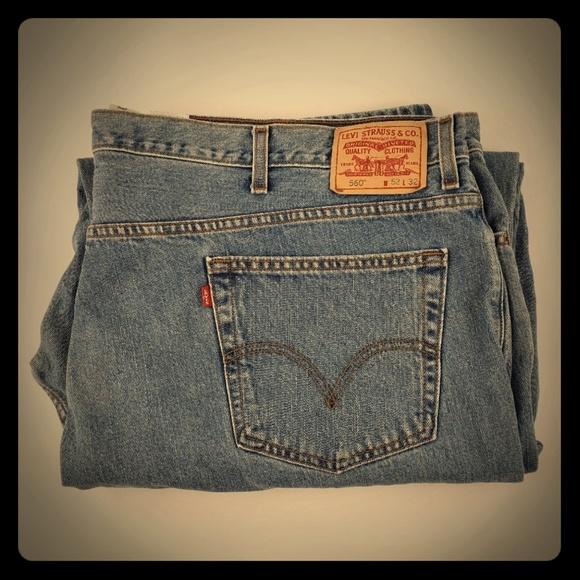 Levi's Other - Levis 560 comfort mens jeans 52W32L